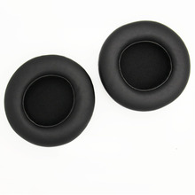 лучшая цена 90mm High-quality Earpads Replacement For Razer Kraken Pro Memory Ear Cushion Comfortable Leather Ear Pads Eh#