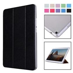 Роскошный чехол для планшета Huawei Mediapad T3 T5 8 10 10,1 дюймов, кожаный чехол-книжка с подставкой для MediaPad M3 M5 Lite 8,0 8,4 10,1 дюймов