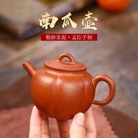 Yixing empfohlen durch die manuelle schlamm kürbis topf teekanne zhu kleine kapazität von 150 ml