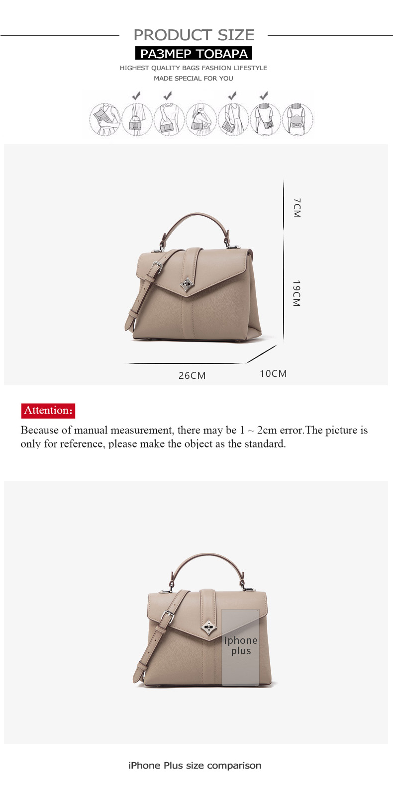 Jianxiu marca bolsa de couro genuíno bolsas