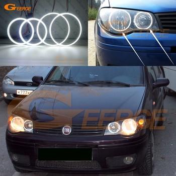 цена на Excellent Ultra bright smd led Angel Eyes kit DRL For Fiat Albea 2005 2006 2007 2008 2009 2010 2011 headlight