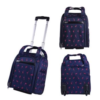 15 Cal walizka podróżna na kółkach walizka na kółkach przenośna torba na kółkach torba na kółkach na zewnątrz weekendowa podróż bagaż na samolot tanie i dobre opinie ALUEATOM CN (pochodzenie) NYLON Versatile 21cm torby podróżne 31cm zipper Torba podróżna 2 2kg WTBP01 SOFT moda 37cm