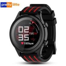 Reloj inteligente E5 IP68 de hombre y mujer, reloj inteligente deportivo resistente al agua con control del ritmo cardíaco y de la presión sanguínea y de la salud