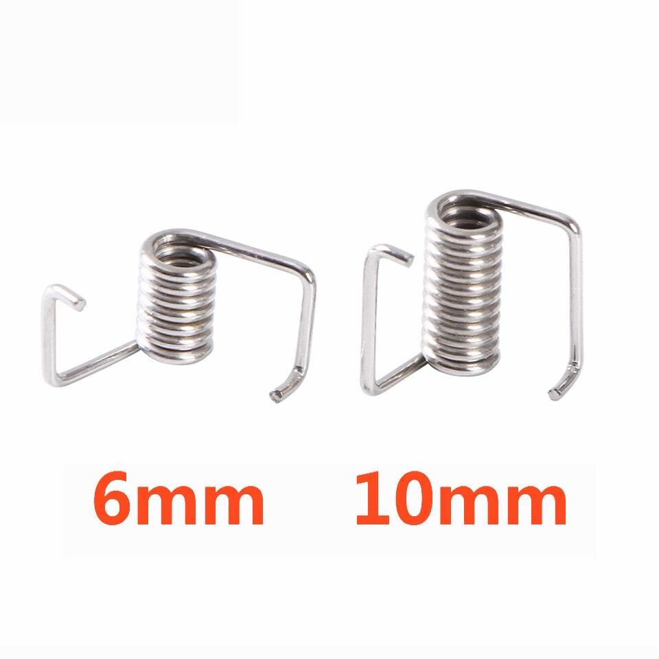 10 stücke 3D Drucker frühling Locking Torsion Frühling GT2 2GT Timing Gürtel Locking Torsion Frühling Für 3D Drucker Reprap Teile