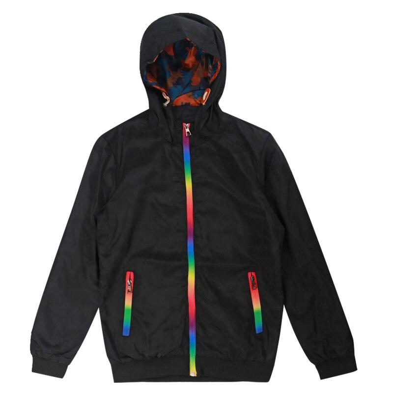 Woodvoice New Mens Jacket Windbreaker 2020 Spring Autumn Fashion Outwear Jacket Men Hooded Casual Jackets Male Jaqueta Masculina