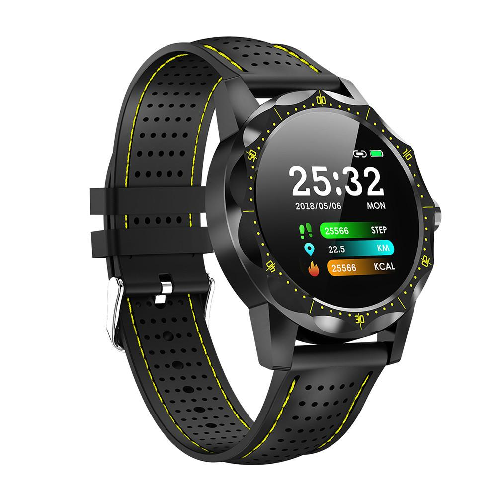 SKY <font><b>1</b></font> Smart Watch Men IP68 Waterproof Activity Tracker Fitness Tracker <font><b>Smartwatch</b></font> Clock BRIM for android iphone IOS phone image