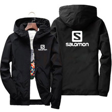 2020 spring and autumn new fashion jacket men's street windbreaker polyester hoodie zipper thin jacket casual men jackets 7XL