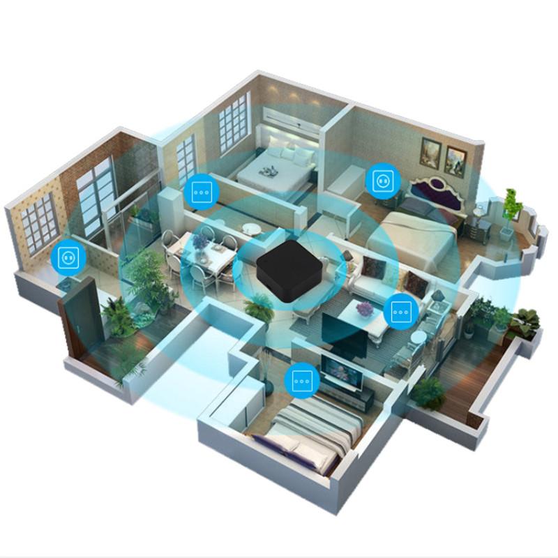 H0dde5173c3c7414fa6b4295ec8734547t - Mini Smart Home Automation WIFI IR Remote Control Intelligent Universal 2.4GHz WIFI IR Remote for Alexa Echo Google Home