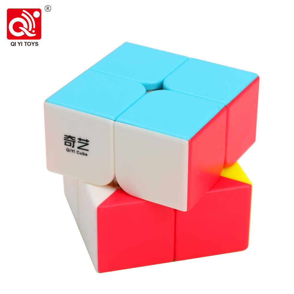 QiYi QiDi 2x2 Speed Cube 50MM QiDi S Magic Cube Puzzle Educational Toys For Children Beginners