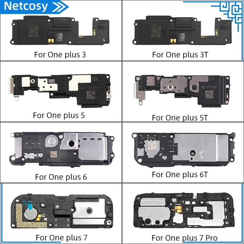 Netcosy 1 Pcs Loud Speaker For OnePlus 3 3T 5 5T 6 6T 7 7Pro Loud Speaker Buzzer Module Ringer Repair Parts