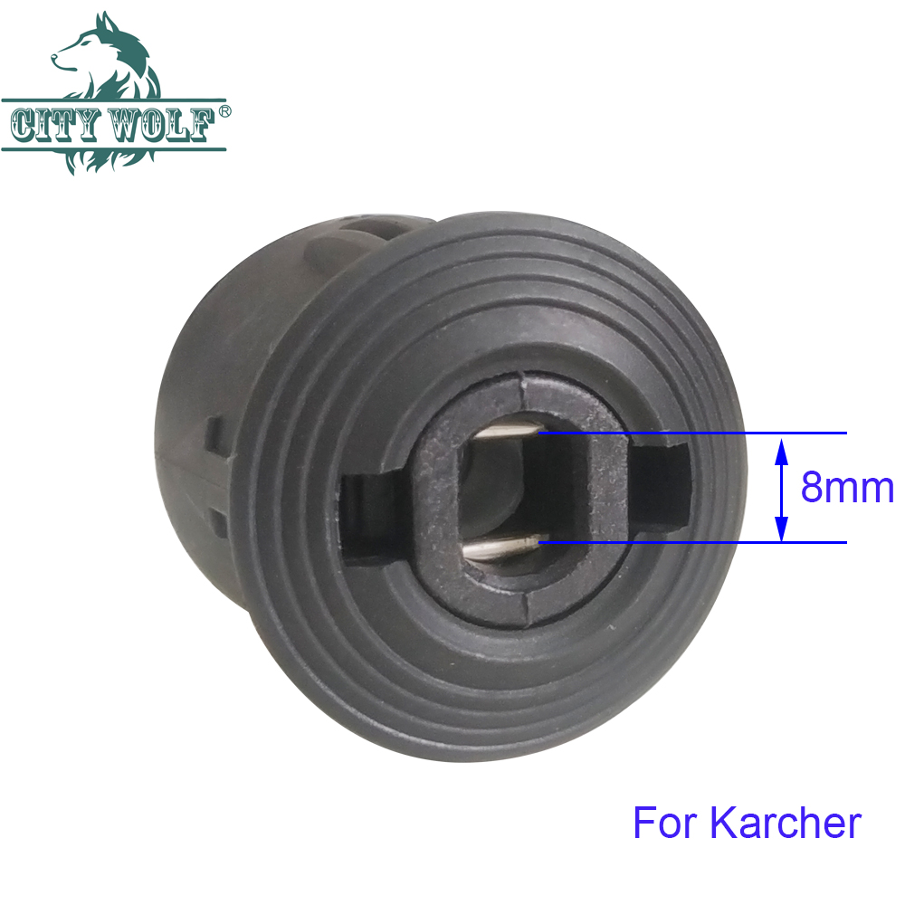 high pressure washer hose adaptor connect with car washer outlet adaptor and hose for Karcher Nilfisk  M22*1.5mm  change connect