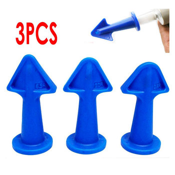 3 Pcs Caulk Nozzle Applicator Silicone Caulking Tools Sealant Nozzle Caulking Epoxy Piston Nozzle Accessories