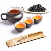 VOGVIGO Tea Spoon Wooden Exquisite Tea Scoops Teaspoon Teaware Accessories Tea Shovel for Home Teahouse Office