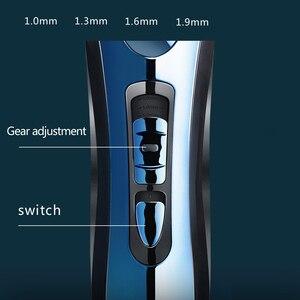 Image 3 - RIWA wodoodporna maszynka do włosów maszynka do włosów bezprzewodowa maszynka fryzjerska profesjonalna maszynka do włosów męska maszyna do ścinanie włosów RE 750A