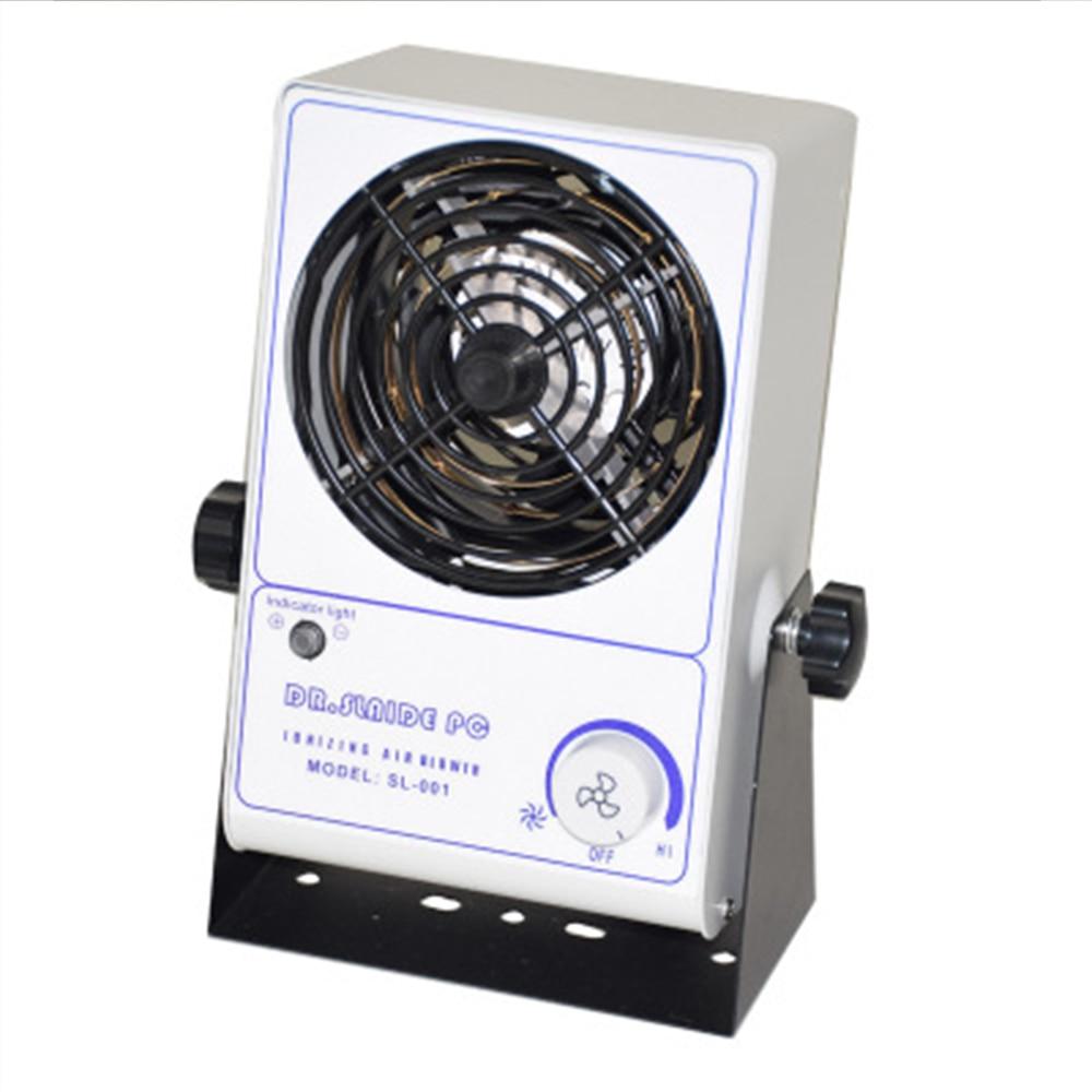 High quality anti static ion blower ion static eliminator fan 110v