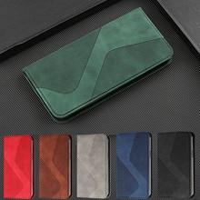 Flip Leather Case Voor Samsung A51 A71 A21S A31 A41 A50 A30 A40 A20 A10 Note20 S21 S20 Ultra Fe s10 E S9 Plus Wallet Cover