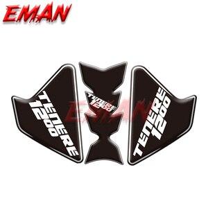 Image 3 - Caja lateral de tanque de combustible para motocicleta YAMAHA, pegatina de protección, pegatinas antiaricción para Super Tenere XT1200Z XT 1200Z