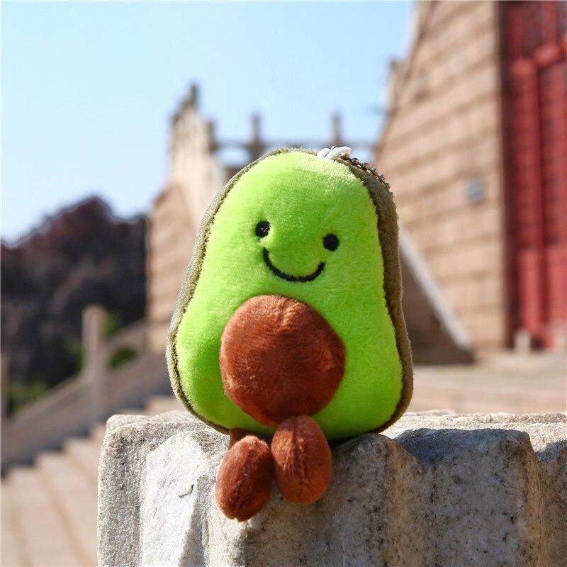 Avocado Doll Pendant Doll Girl Cute Ugly Cute Doll Keychain Plush Toy
