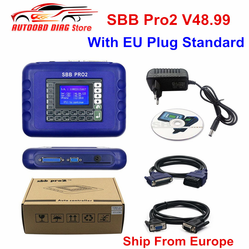 Key-Programmer Update SBB Super-Sbb PRO2 Cars V46.02 V48.88 No 2-48.99 V48.99-Support