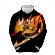 Fairy tail interesting 3d print hoodies autumn winter hoodie