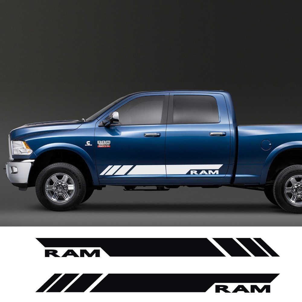 Amazon Com Truck Dodge Ram Logo Decal Sticker Car Vinyl Graphics Tr013 Home Kitchen