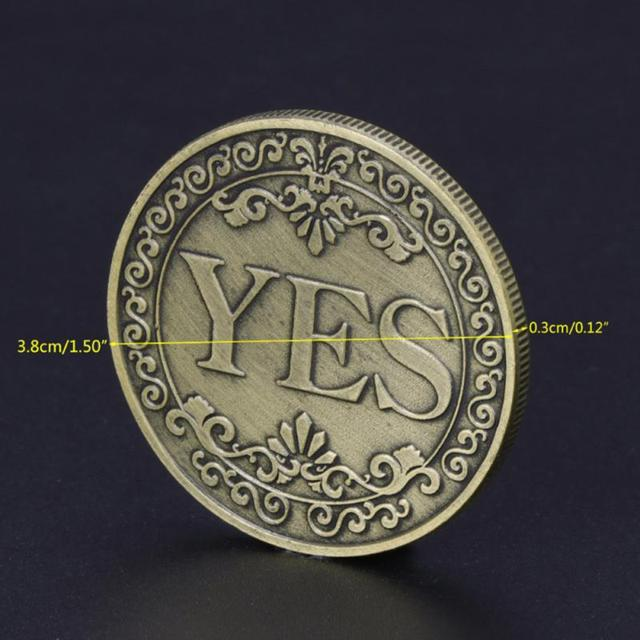 Yes/No Coin 6
