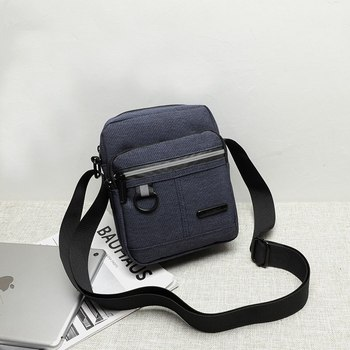 Men's Messenger Bag Crossbody Shoulder Bags Travel Bag Man Purse Small Pack for Work Business Waterproof crossbody bag image