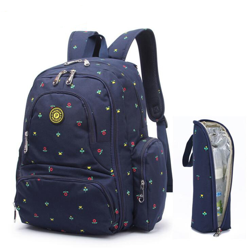 Fashion Mummy Maternity Nappy Bag For Stroller Waterproof Backpack Multifunction 3pcs/set Printing For Mom Outdoor BJB002