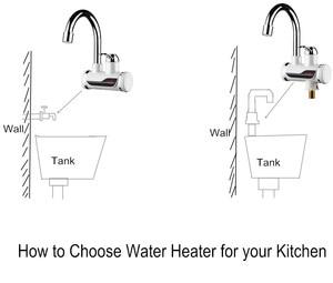 Image 5 - タンクレス給湯器タップ要素110v 220v 3000ワットキッチンインスタント電気蛇口温水電気タップ