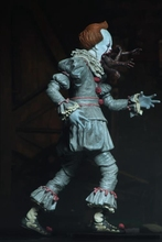 цена на In Stock 18cm NECA PVC Anime Figure Stephen King's It Evil Joker the LED Dance Clown Pennywise Figure Deluxe Edition Model Boxed