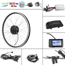 Electric-Bike Hub-Motor Conversion-Kit Front/rear-Wheel 20/26inch 36V 350W/500W 36V/48V