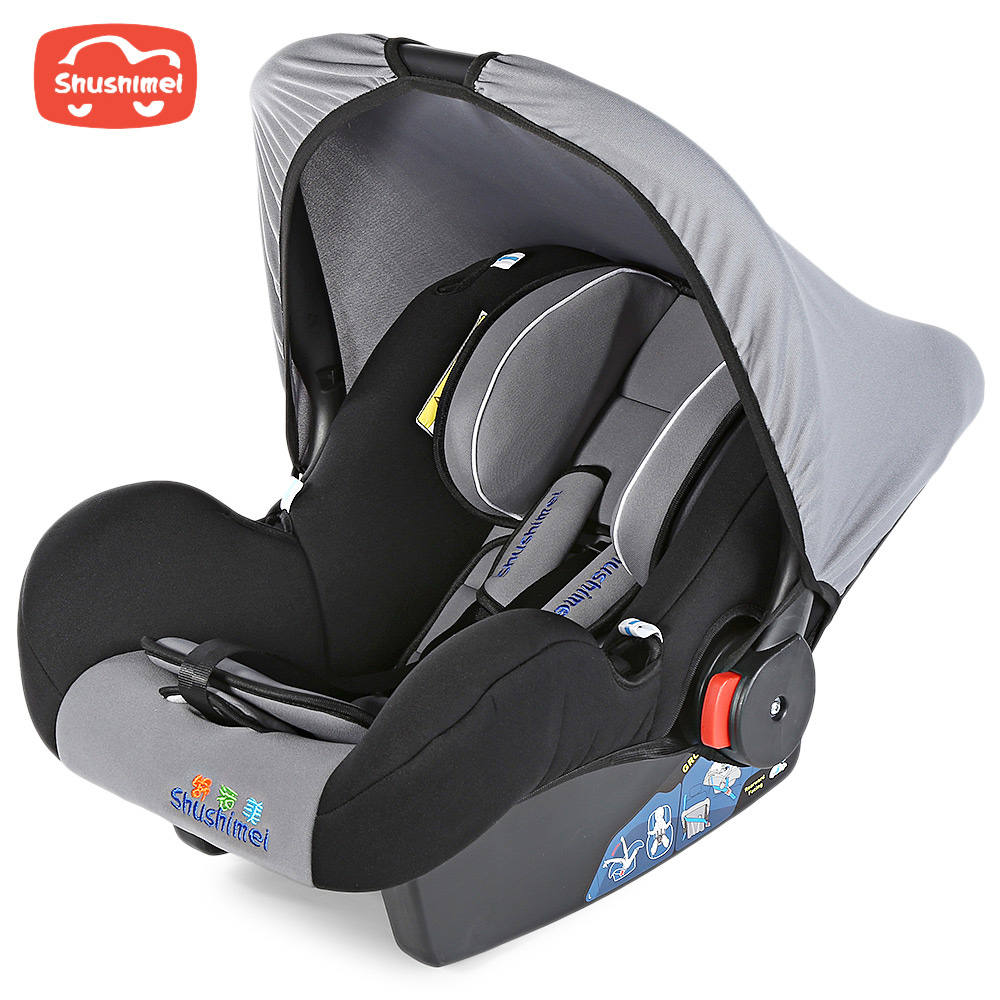 SSM - A Thickening High Back Toddler Baby Car Seats First Protection 0 -13kg Portable Baby Car Seat
