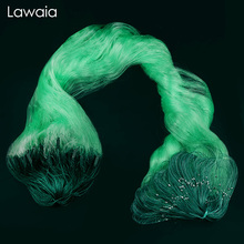 Lawaia Fishing Net Fish Imported Green Silk Three-layer Sticky Sink Casting Float Tools