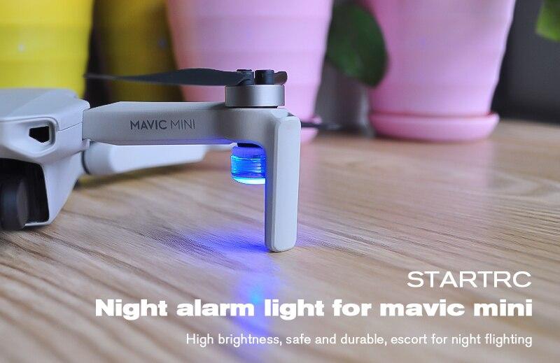 4Pcs Strobe Night Flashing LED Light Warning For Mavic Mini Air Autel Fimi