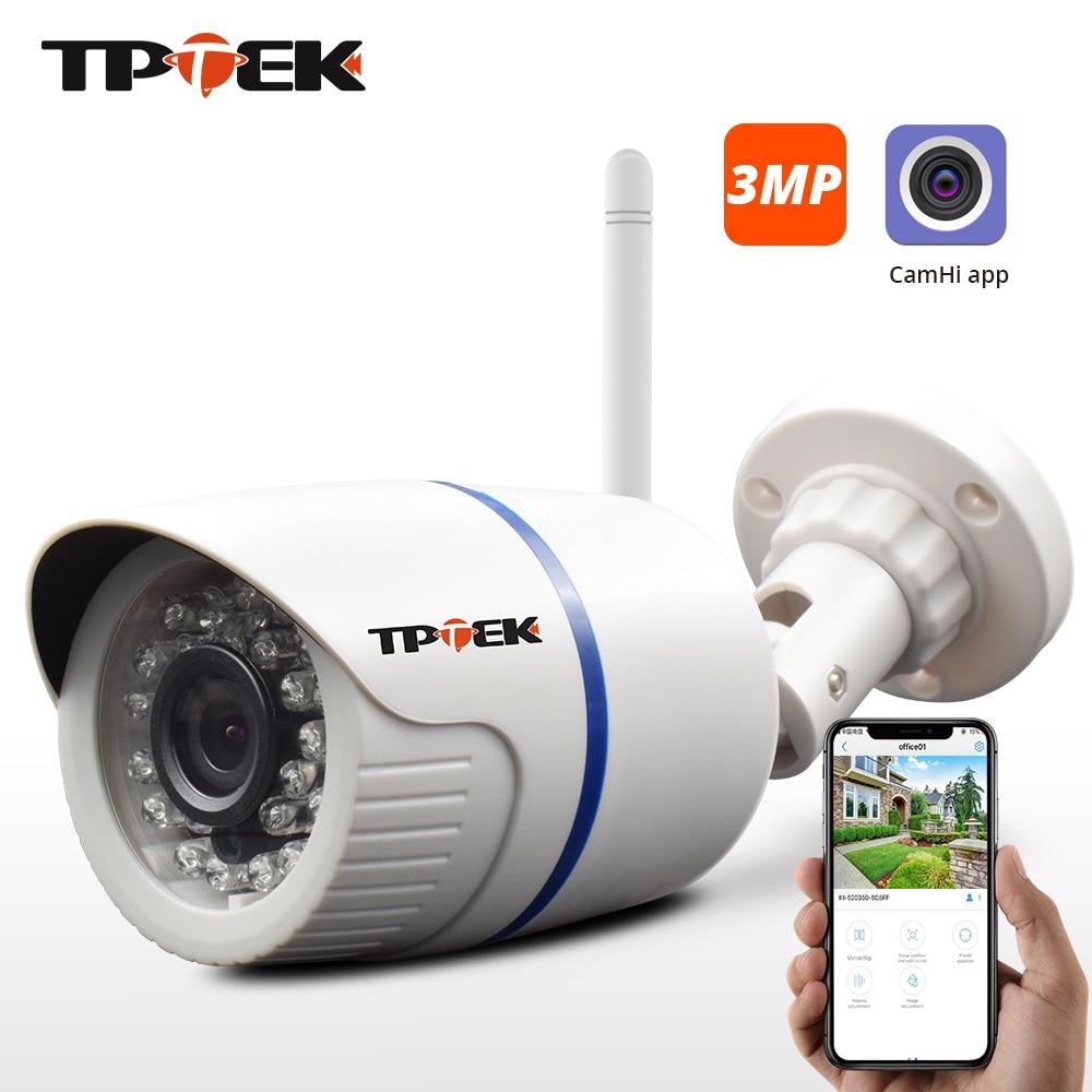 3MP 1080P IP Camera Outdoor WiFi Security Camera 720P Wireless Surveillance Wi Fi Bullet Waterproof CCTV Onvif Camara CamHi Cam