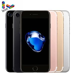 Разблокированный Apple iPhone 7 оригинальный iOS 4G LTE смартфоны 2G RAM 32GB/128GB/256GB ROM 12.0MP четырехъядерный сотовый телефон со сканером отпечатка пальца