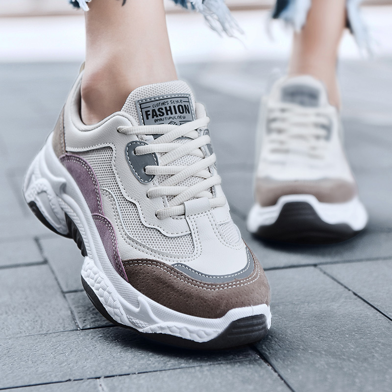 Leader Show Woman Shoes Comfortable Rubber Outdoor Women Sneakers Brand Spring Sport Shoes Zapatos Mujer Trend Sneaker For Woman
