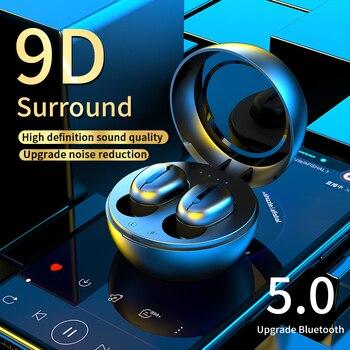 True TWS Wireless Earphones Bluetooth 5.0 Earphone TWS Gaming Earbuds With Mic Charging Box Headset Wireless Earpods For Xiaomi 1