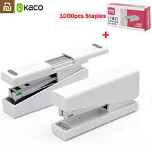 Original Youpin Kaco LEMO Stapler 24/6 26/6 with 100pcs Staples for Paper Binding Business School Office Use