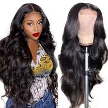 Ur beleza onda do corpo brasileiro peruca dianteira do laço 13x4 peruca frontal do laço onda do corpo 4x4 fechamento do laço peruca sem cola do cabelo humano do laço perucas