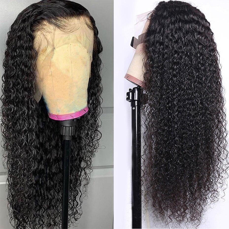 t parte do laço peruca brasileira encaracolado