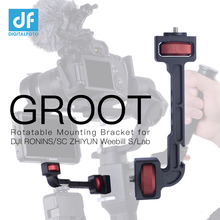 Groot Zhiyun Weebill S/Lab Kraan 3/3S/3S E Dji Ronin S/Sc/RS2/RSC2 Extension Draaibare Bracket Voor Monitor Led