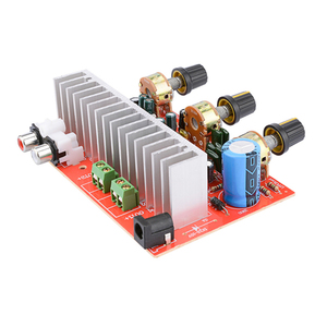 Image 5 - Lusya TDA7377デジタルオーディオアンプボード40ワット + 40ワットステレオ2.0チャンネル電源amplificadorのdiyのためにスピーカーDC12V E5 005