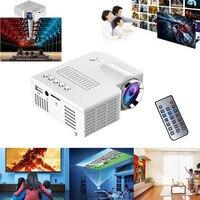 Portable UC28 PRO HDMI Mini LED Projector Home Cinema Theater AV VGA USB GV99