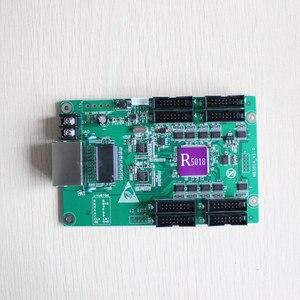 Image 2 - Gratis Verzending Huidu HD R5018 Hd R5018 Full Color Ontvangende Kaart Ondersteuning 3G/4G/Wifi Besteden Hd r5018 Werken Met HD C30/A30 T901