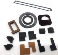 10 conjuntos de kit de vedação do selo do cartucho de Toner lâmina Tambor Para Ricoh AF2075 AF1075 2060 MP5500 6001 7001 7500 7502 8000 kit de VEDAÇÃO do desenvolvedor|Peças de impressora| |  -