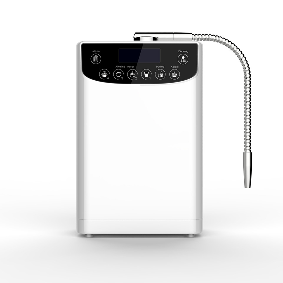 LED Water Ionizer Purifier Machine PH4.5-10.5 Alkaline Acid water setting Hight Quality Hydrogen water