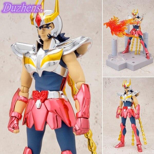 [En stock] Saint Seiya Saint combattant étoile flèche DDP Phoenix Ikki casque poupée mobile PVC figurine figurine Anime modèle jouets