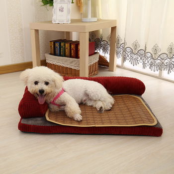 Luxury Large Dog Bed Sofa Dog Cat Pet Cushion Mat For Big Dogs   4