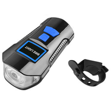 Bicycle Headlights Multi-Function Light Usb Rechargeable Waterproof Flashlight And Electric Bell